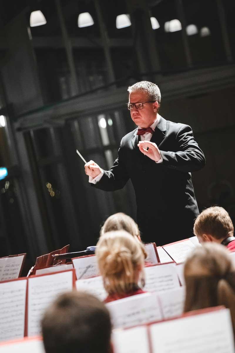 Jubiläumskonzert 2018 mit der Orchestergemeinschaft Seepark 006 - Michael Schönstein - Dirigent und Musiker aus Freiburg