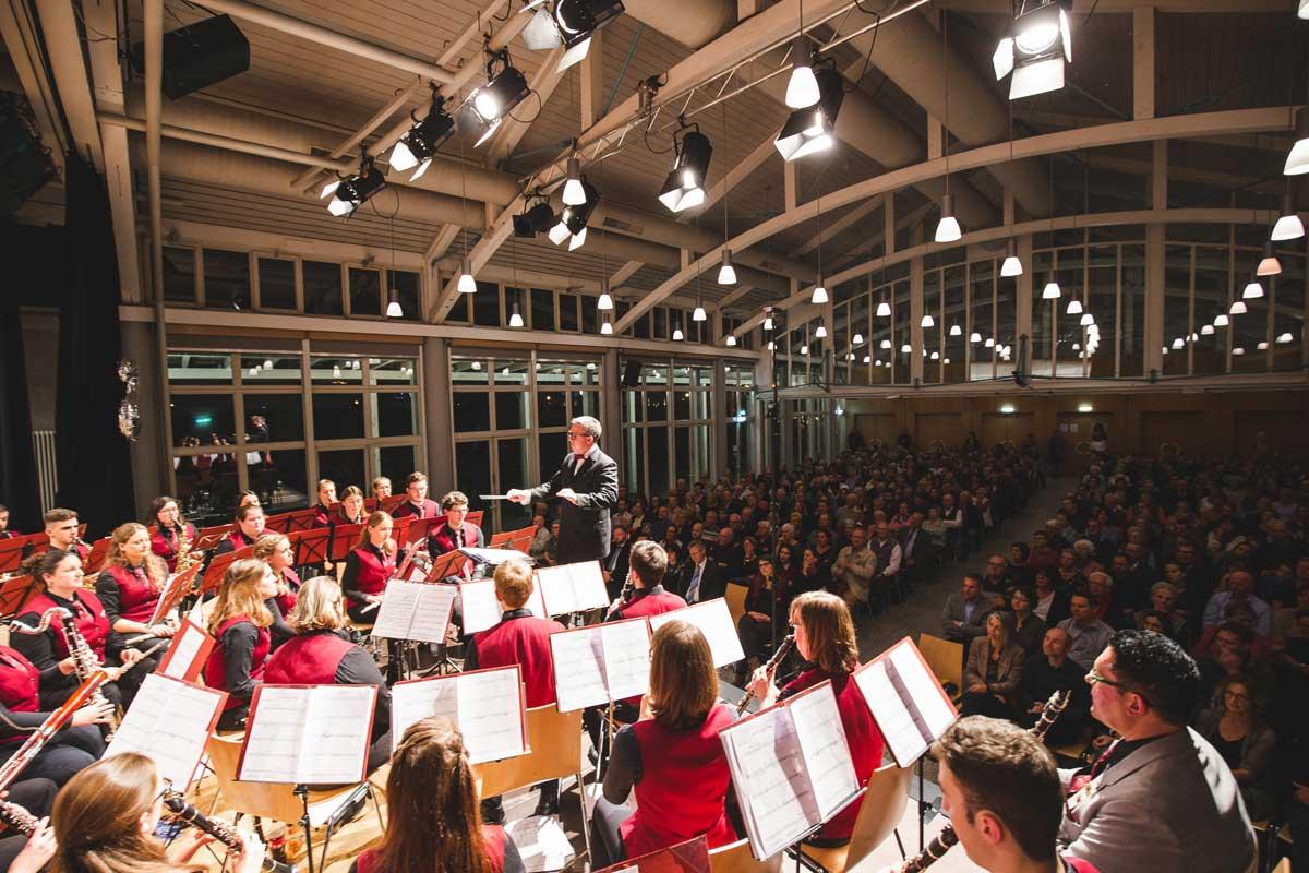 Jubiläumskonzert 2018 mit der Orchestergemeinschaft Seepark 008 - Michael Schönstein - Dirigent und Musiker aus Freiburg