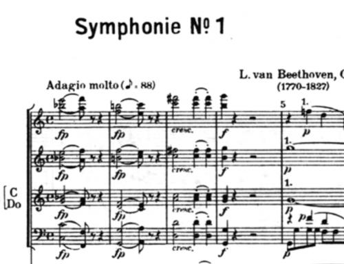 Sinfonie Nr. 1 in C-Dur (op. 21) von Ludwig van Beethoven