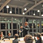 Metafoor Prüfung Konzert 2019 mit dem Bundespolizeiorchester München im Bürgerhaus am Seepark in Freiburg - Michael Schönstein