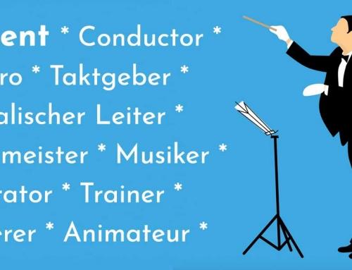 Sprüche, Zitate & Definitionen rund um Dirigent / Conductor / Dirigenten