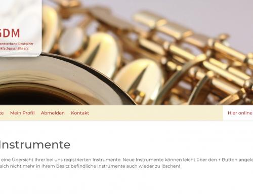 instrumentenklau.de – Instrument vor Diebstahl schützen
