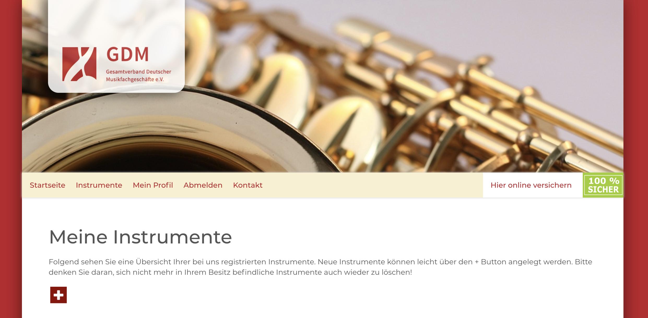 Instrumentenklau.de verhindert Instrumentendiebstahl - jetzt registrieren